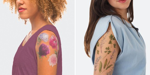 Tattly Scented Temporary Tattoos