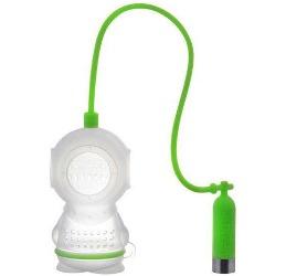 Deep Tea Diver silicone infuser