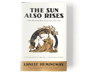 Hemingway Library edition of The Sun Also Rises