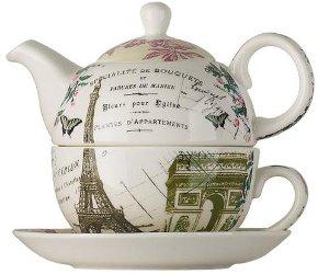 Paris tea for one