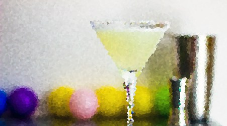 Kamikaze cocktail, mosaico