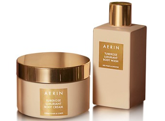 Aerin Tuberose Luxuriant body products