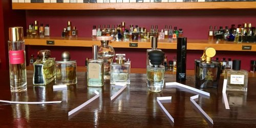Iris fragrances at Fumerie