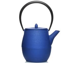 blue Natsume Artisan Teapot