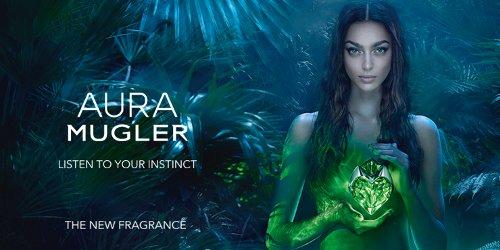Mugler Aura brand image