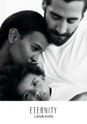 Jake Gyllenhaal and Liya Kebede for Calvin Klein Eternity