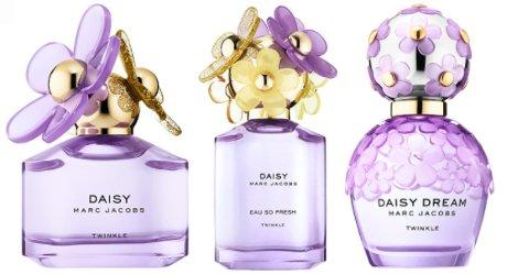 Marc Jacobs Daisy Twinkle, Daisy Eau So Fresh Twinkle and Daisy Dream Twinkle