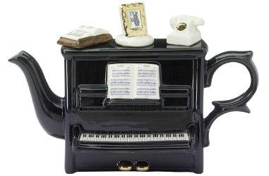 piano tea pot