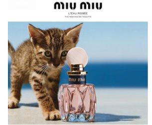 Miu Miu L'Eau Rosée plus kitty