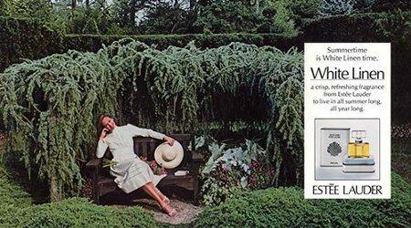 Estée Lauder White Linen vintage advert