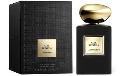 Armani Prive Cuir Zerzura ~ new perfume
