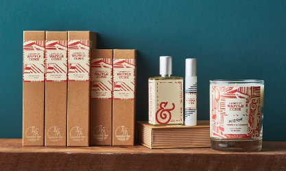 Imaginary Authors + Salt & Straw A Whiff of Waffle Cone ~ new fragrance
