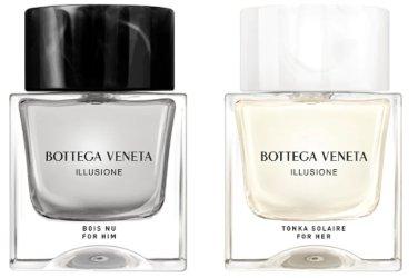 Bottega Veneta Illusione Bois Nu & Illusione Tonka Solaire ~ new fragrances